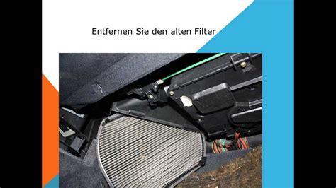Aktivkohlefilter Auto by Innenraumfilter Wechseln Mercedes E Klasse W212