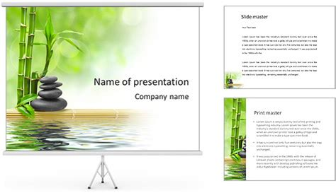 zen powerpoint template relaxing powerpoint template backgrounds id 0000004051