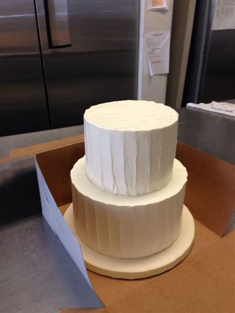 10 8 6 inch wedding cake 8 inch base and 6 inch top two tier textured butter