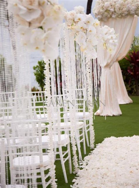 Wedding Aisle Flower Decorations by Stylish Ceremony Aisle Decorations Weddings Romantique