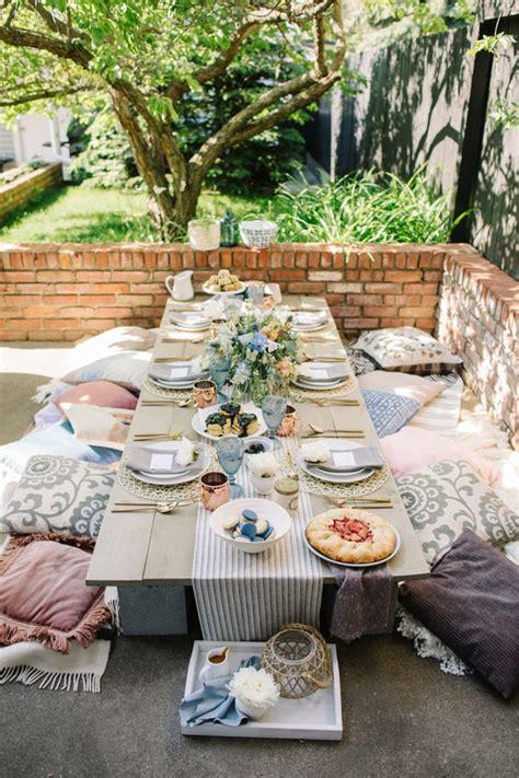 backyard brunch backyard summer brunch wedding garden wedding 100 layer