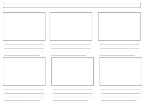 sle storyboard template les 8 meilleures images du tableau storyboard template sur