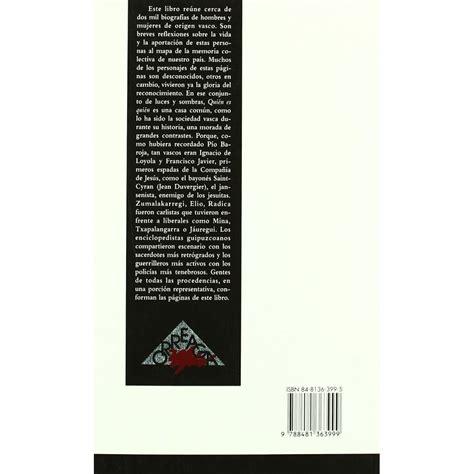 historia mnima del pas 8415832141 qui 233 n es qui 233 n en la historia del pa 237 s de los vascos art 237 culos de euskadi y artesan 237 a vasca en