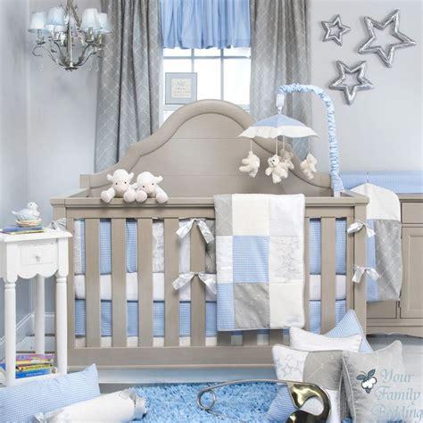 Gray Baby Boy Crib Bedding Glenna Jean Baby Boy Blue Grey Crib Nursery Bedding Accessories