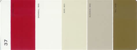martha stewart paint 5 color palette card 37