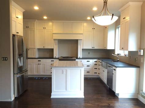 best granite for white shaker cabinets kitchen remodel white shaker cabinets absolute black