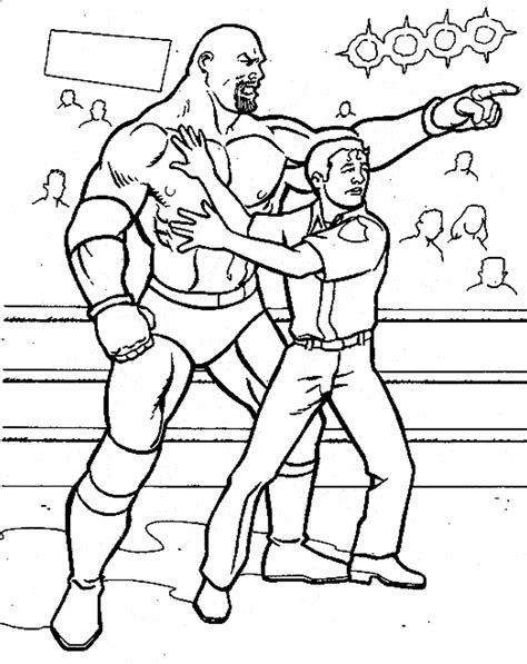 coloring pages to color online and print get this printable wwe coloring pages goldberg 41947