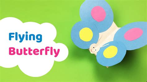 flying crafts for how to make flying butterfly craft for