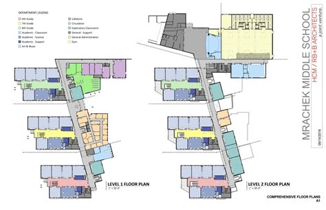 middle school floor plans new mrachek bond program information