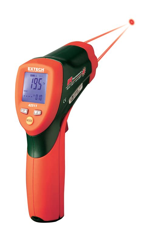 Termometer Laser Infrared extech dual laser infrared thermometer 42511