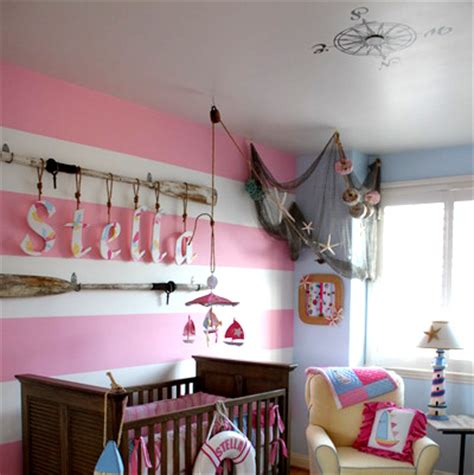 nautical themed nursery decor oars in nurseries and children s rooms