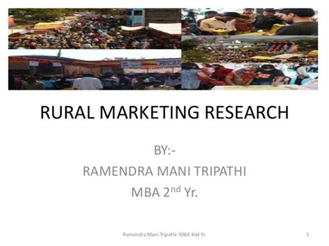 Mba Carolina Strategy by Rural Marketing Research New