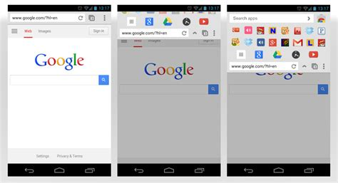 android themes extension chrome apps on android concept viewout