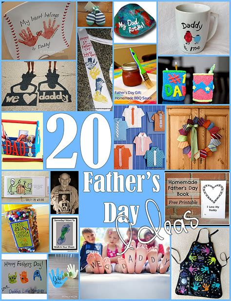 Handmade Fathers Day Gift Ideas - 10 fathers day gifts from toddlers