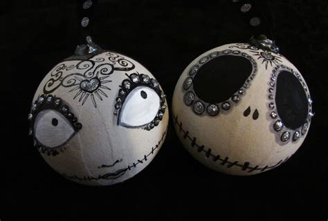jack and sally christmas ornaments day of the dead and sally ornaments 171 horrific finds