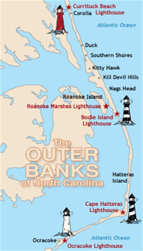 outer banks lighthouses map www pixshark com images galleries with a bite outer banks lighthouses map www pixshark com images