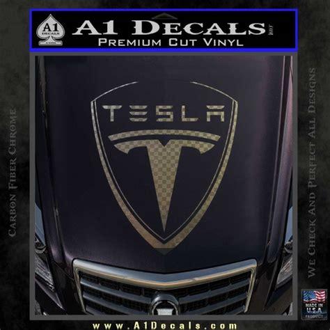 tesla motors emblem tesla motors emblem decal sticker 187 a1 decals