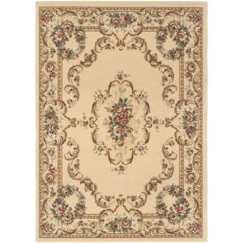 home depot 5x7 area rugs tayse rugs laguna beige 5 ft x 7 ft traditional area rug 4612 beige 5x7 the home depot