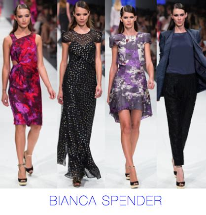 bianca spender duo magazine l oreal melbourne fashion festival continues with top