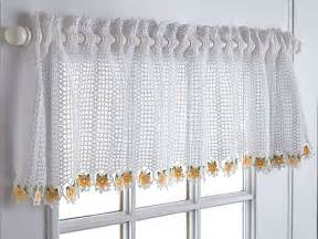 Crochet Kitchen Curtains 19 Cool Patterns For Crochet Curtains Guide Patterns