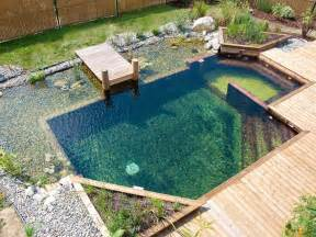 Swimming Pool House Plans Bassins Naturels Mayet Parcs Amp Jardins