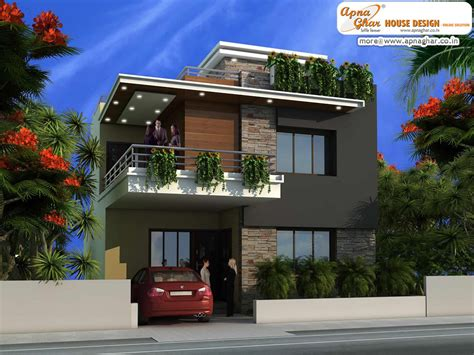 modern home design duplex modern duplex house design like share comment click