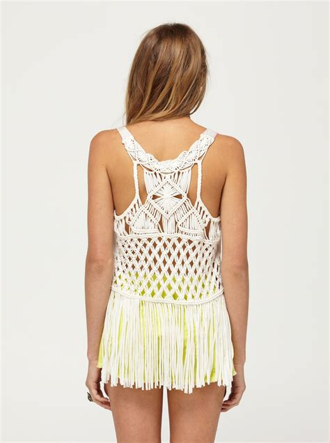 To For Top by Macrame Madness Tank Top 467575