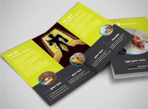 Pest Control Services Business Brochure Templates Mycreativeshop Com Metric Pest Brochure Template
