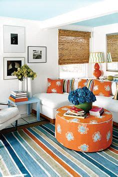 orange white room possible home decor ideas orange and blue on orange pillows blue orange and