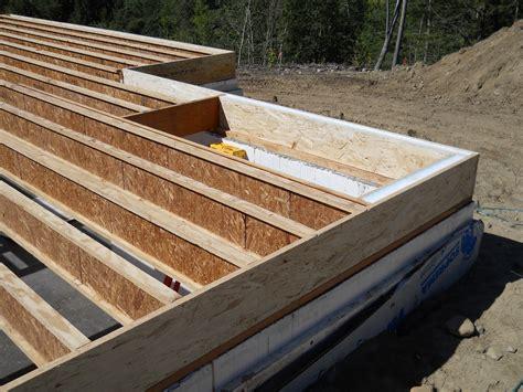 Engineered Floor Joists Floor Deck Tom Builder
