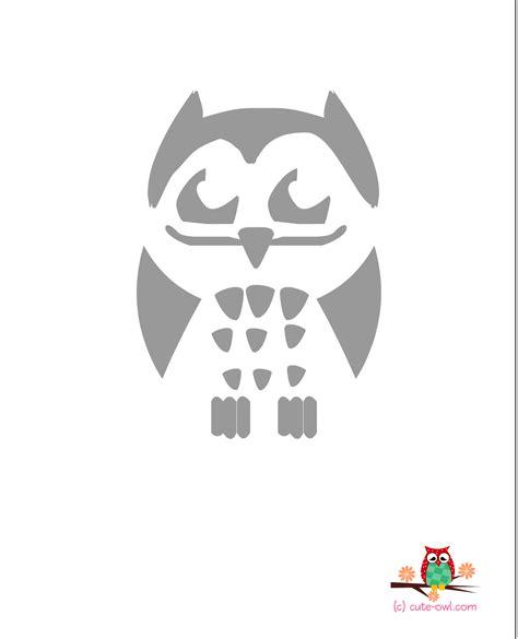 Printable Owl Stencils | cute owl stencils free printable