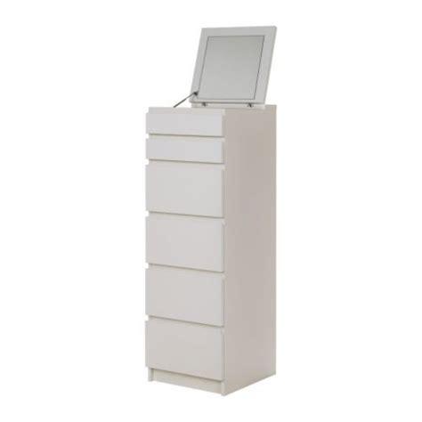 ikea malm white 6 drawer chest with mirror malm 6 drawer chest white mirror glass