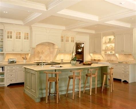 green kitchen islands traditional kitchen with charming white kitchen
