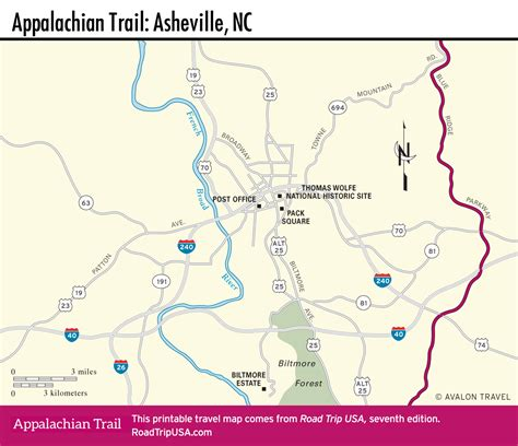 appalachian trail map carolina appalachian trail driving route road trip usa