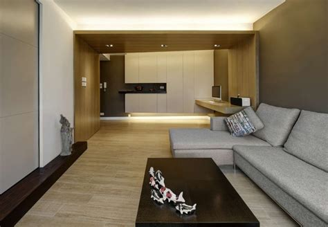 warm design modern small warm apartment contemporary family room