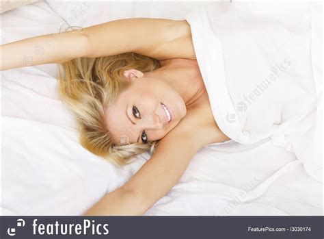 girls laying in bed relaxation girl laying in bed stock image i3030174 at