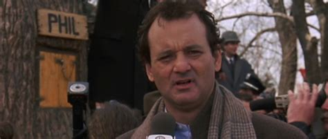 groundhog day genius bill murray goes to see groundhog day the
