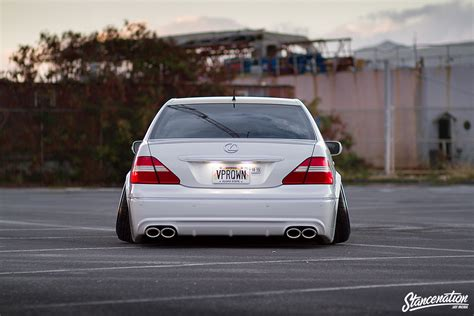lexus ls430 vip hawaii five ohhhhhh the vpr lexus ls430 stanced rides