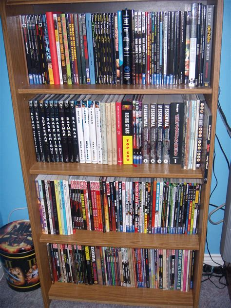 comic book shelves home decor