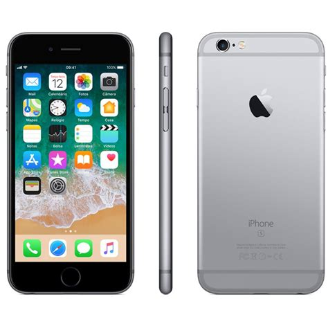 iphone 6s plus apple 16gb tela 5 5 hd 3d touch ios 9 sensor touch id c 226 mera isight