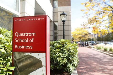 College Of Estate Management Mba by Questrom Administrators Students Foresee Abundant