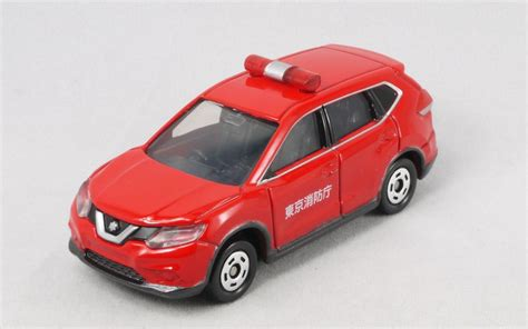 Tomica Nissan X Trail Chief Car 2017 Date Edition 2017 4 トミカ no 001 日産 エクストレイル 消防指揮車 まつくログ トミカ分室