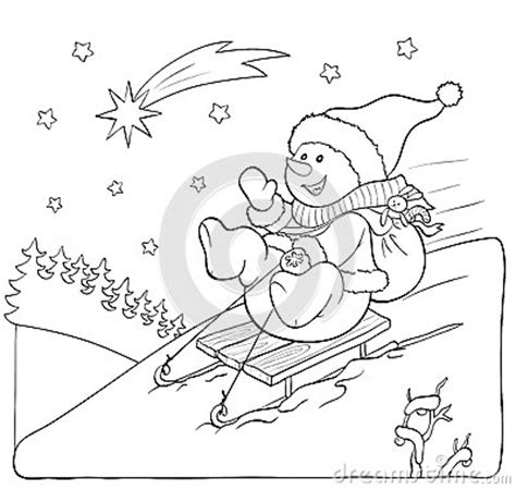 snowman reading coloring page snowman reading a book coloring coloring pages