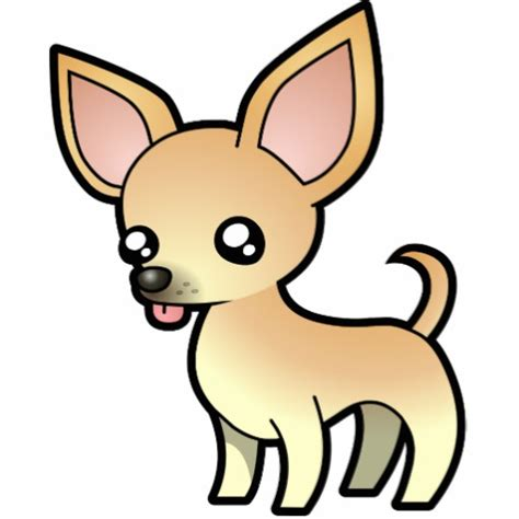 Chihuahua Clipart chihuahua fawn smooth coat zazzle
