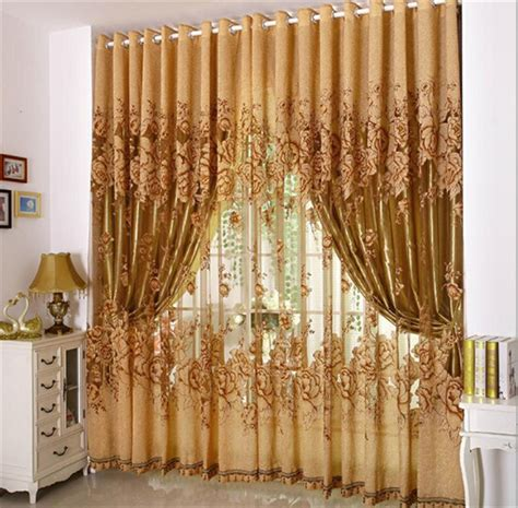 Kitchen Curtains Clearance Aliexpress Buy High Quality Clearance Sale Living Room Tulle Window Curtains Kitchen