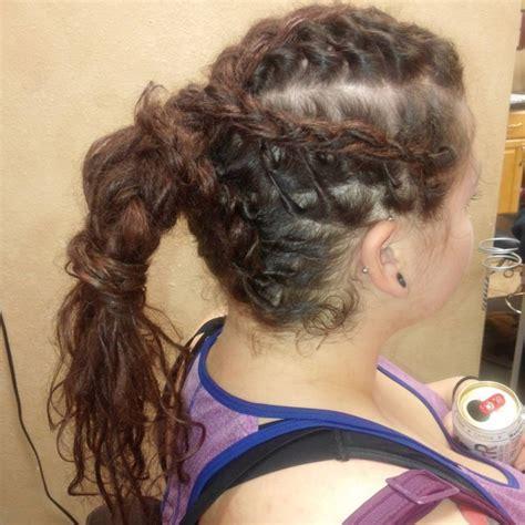 braided ponytail hairstyle ideas designs design
