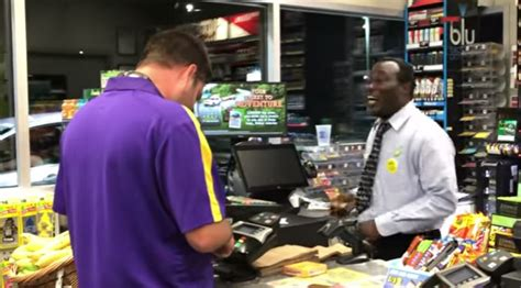 Gas Station Cashier by Awesome Gas Station Cashier Has With Customer