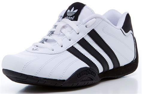 adidas goodyear trainers c adidas originals goodyear adi racer kids gs trainers white
