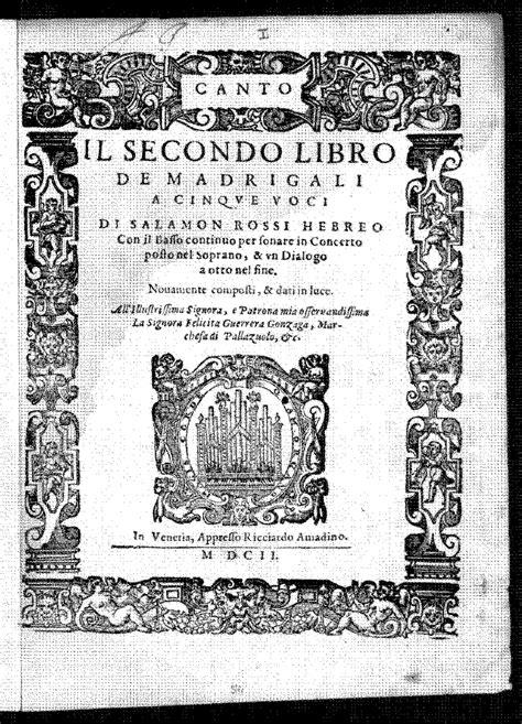 libro ernst colour library file pmlp291296 rossi il secondo libro de madrigali colour pdf imslp petrucci music