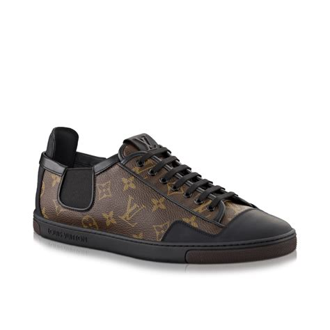 louis vuitton sneakers mens slalom sneaker in monogram canvas via louis vuitton